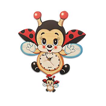 てんとう虫キャラクター | 振り子時計(大)