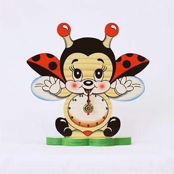 てんとう虫キャラクター | 置き時計
